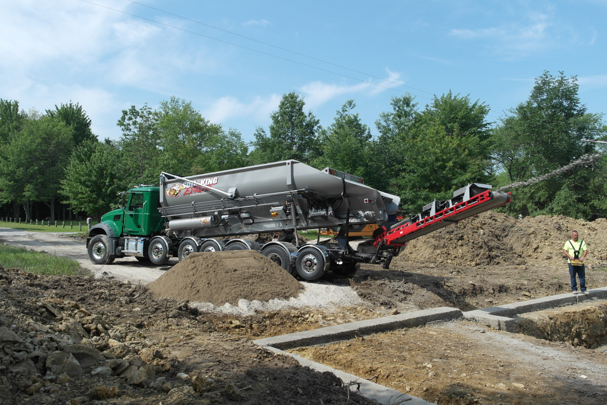 Soil king extreme canamerican stone spreader for Soil king productions