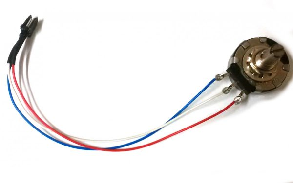 RA270A – 2.5K Throw Belt Potentiometer with Wire Harness