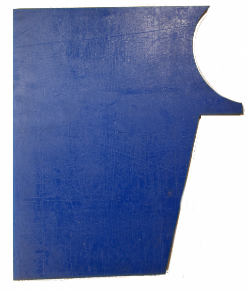 BE006 – XTR/SPR Side Hopper (Blue Urethane)
